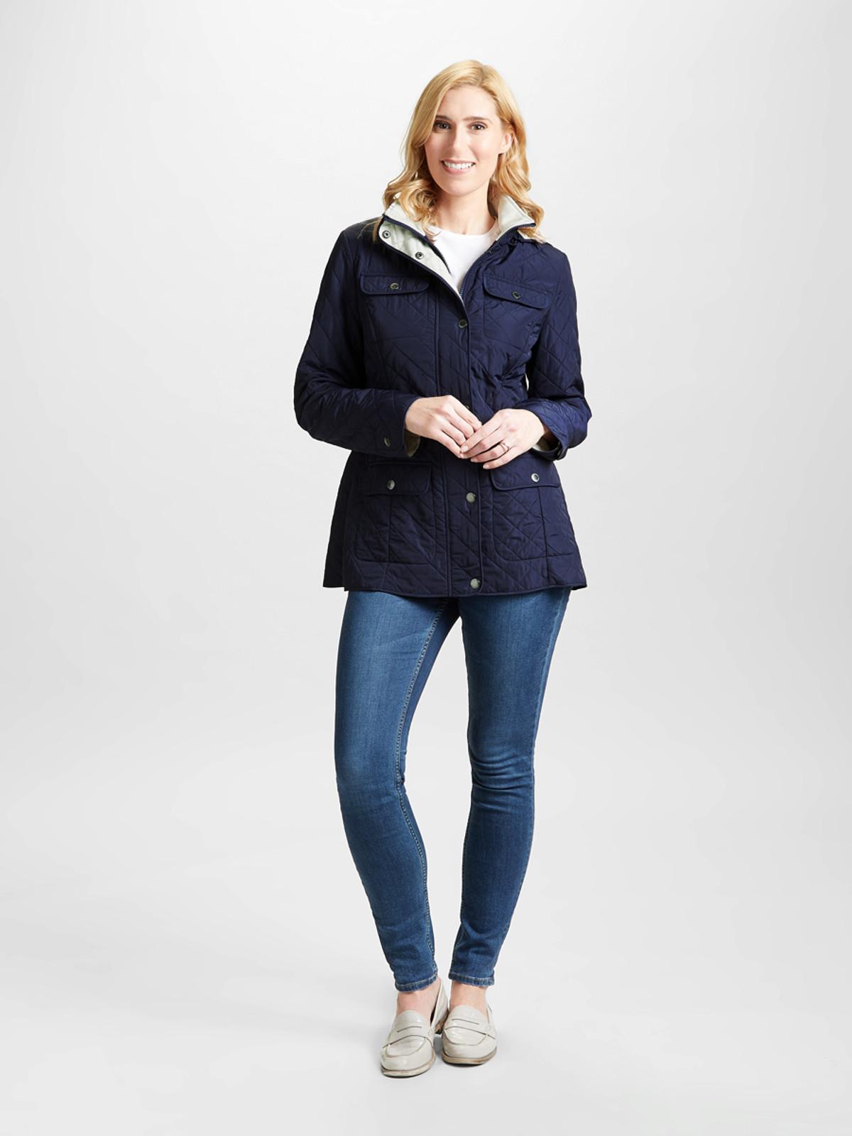 Polar Quilt Jacket, Navy