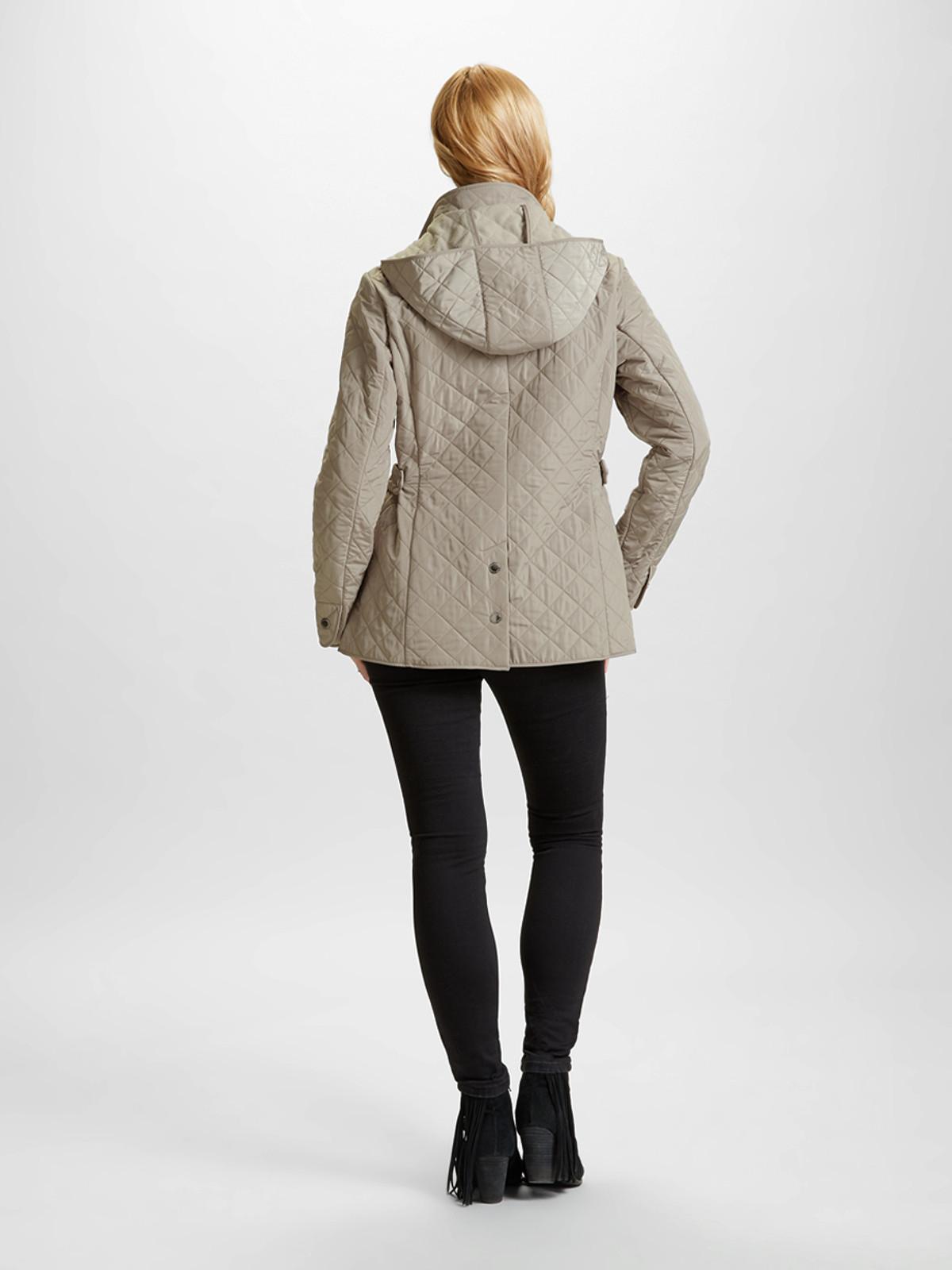 Polar Quilt Jacket, Taupe