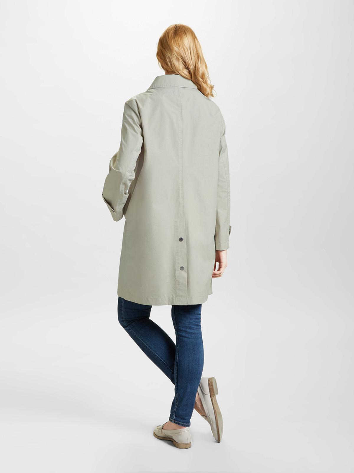 BOTTANY BAY – Contemporary Urban Coat, Linen/Blush