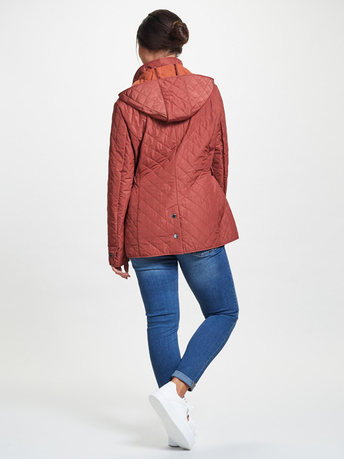 Polar Quilt Fleece Jacket, Copper