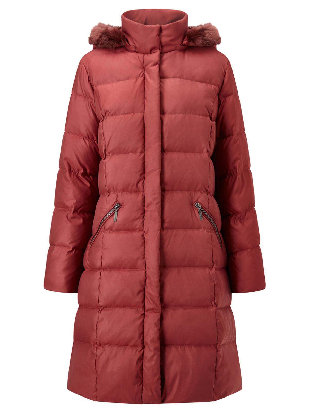 Puffa Coat, Berry