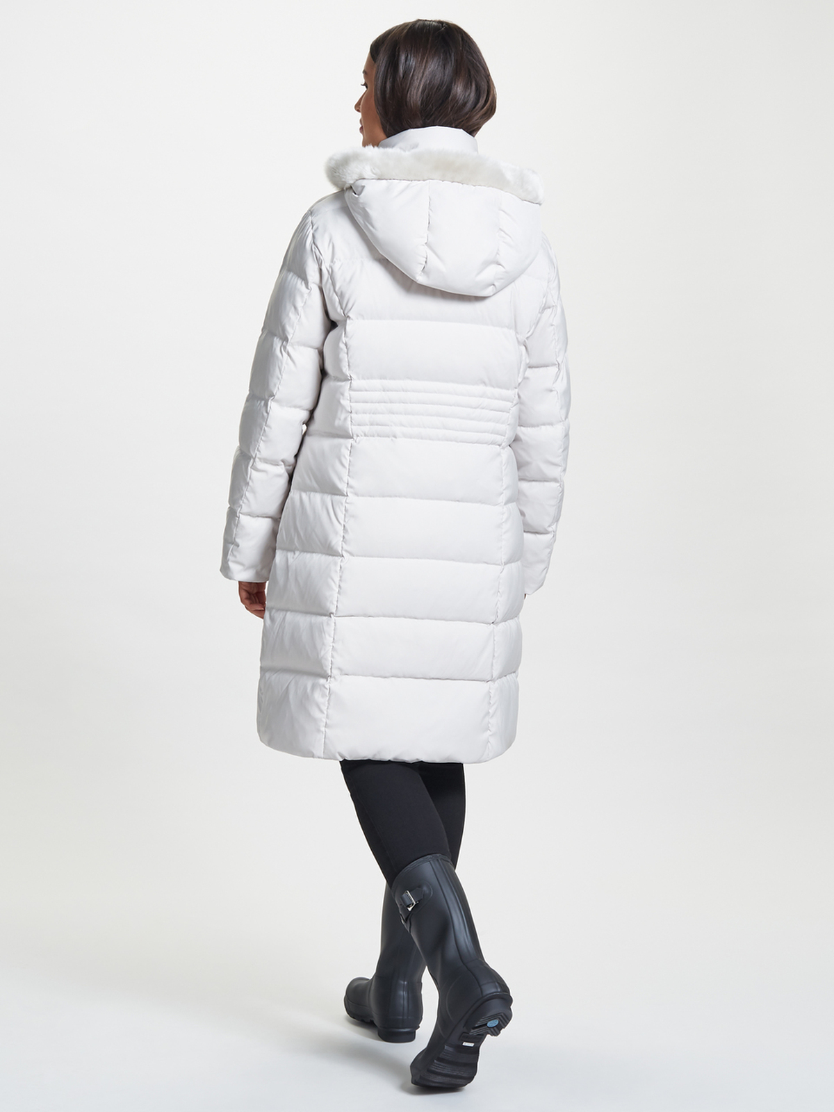 Puffa Coat, Chalk