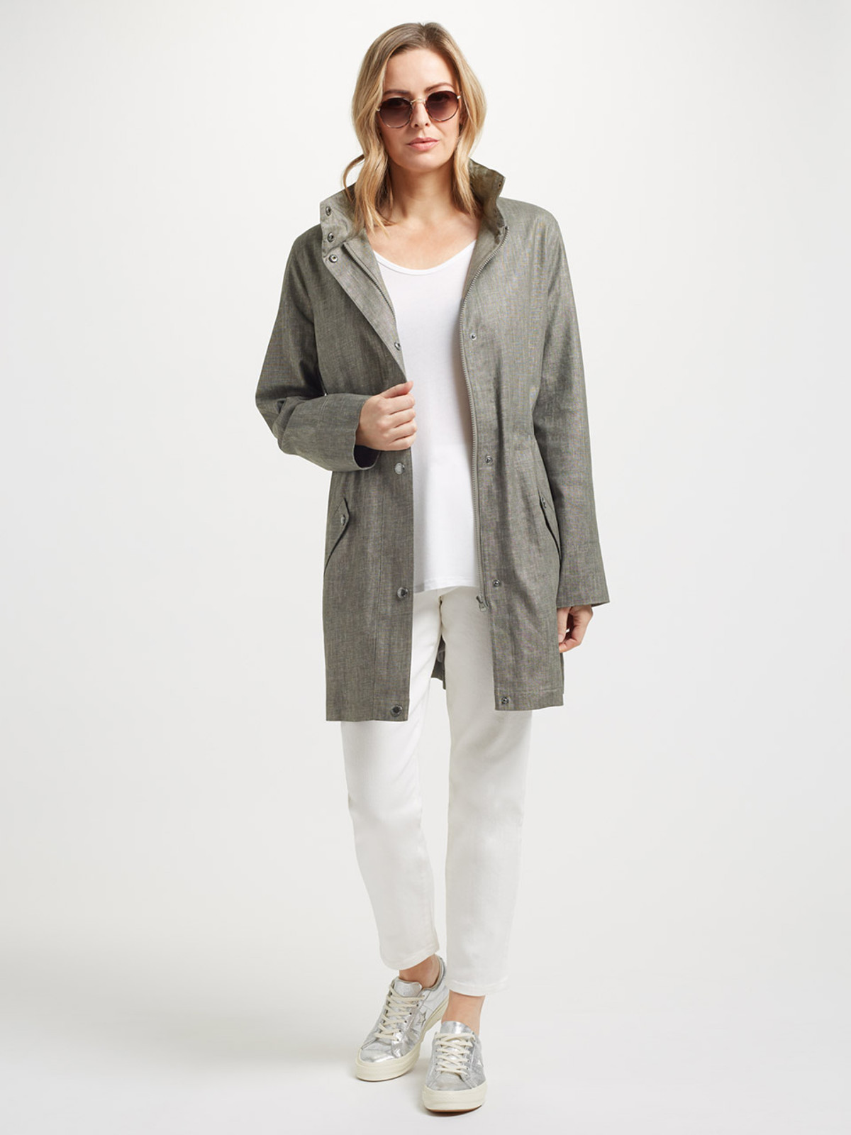 HASTINGS – Hooded Parka, Grey