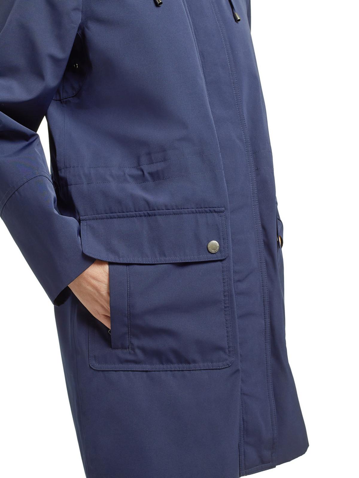 CAMBER – Long Performance Jacket, Navy