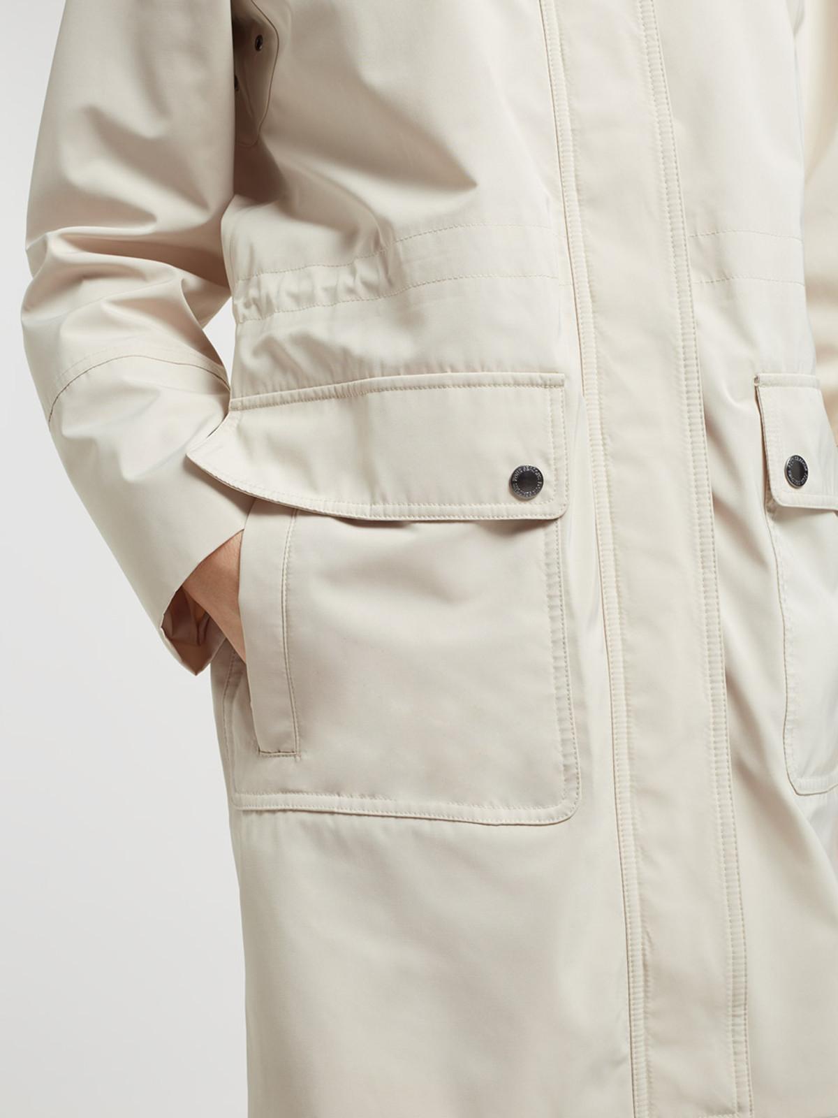 Long Performance Jacket, Stone
