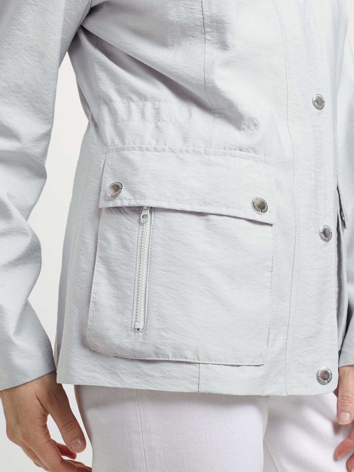 ECCLESBOURNE – Short Safari Jacket, Silver