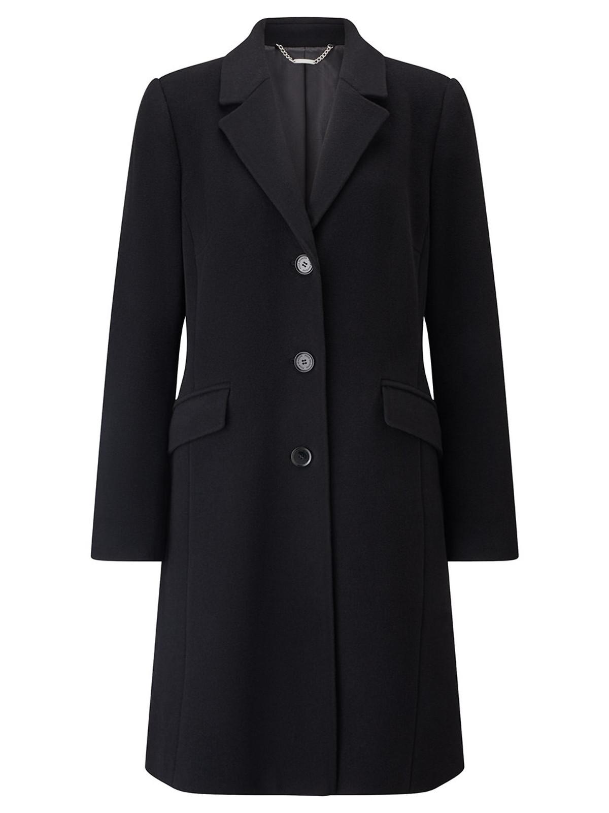 City Coat, Black