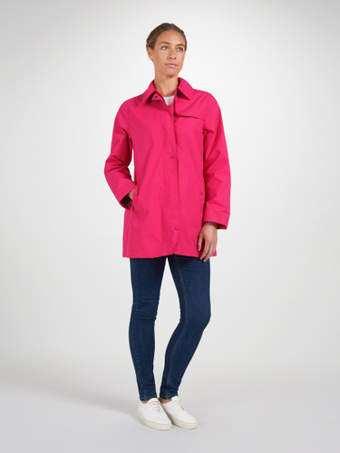 Performance jacket, Hot Pink/ Silver