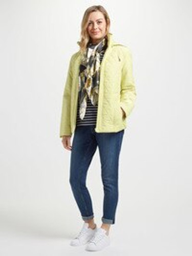 Quilted Jacket, Citrus