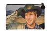 Robert Fuller Small zippered bag -Hat Tip & a Smile