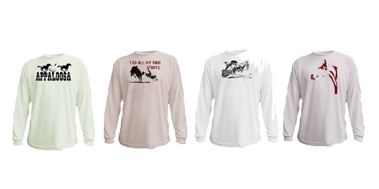 Horse Lover's Long Sleeved Ts