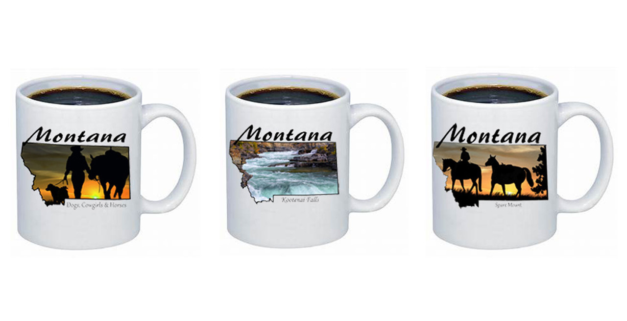 Montana Coffee Mugs