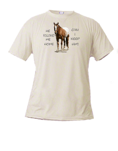 Kids horse    lover's T-shirt - Can I Keep Him