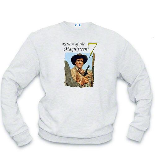 Sweatshirt - Robert Fuller in Return of the Magnificent 7