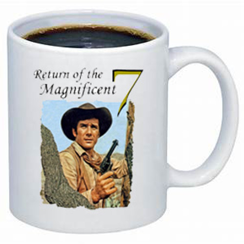 Robert Fuller coffee mug - Return of the Magnificent 7