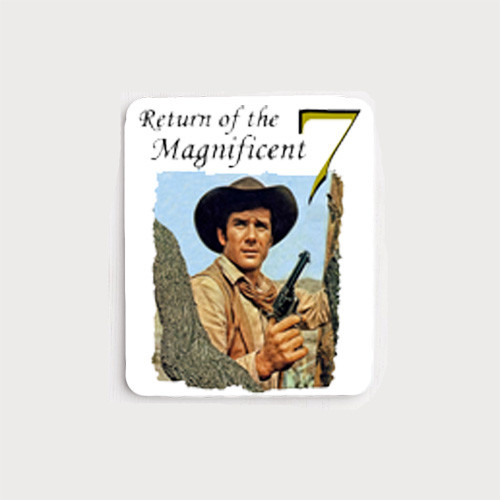 Robert Fuller mouse pad - Return of the Magnificent 7