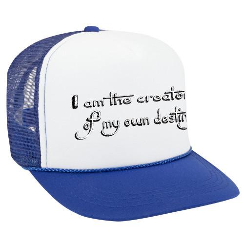 I am the creator of my own destiny - ball cap
