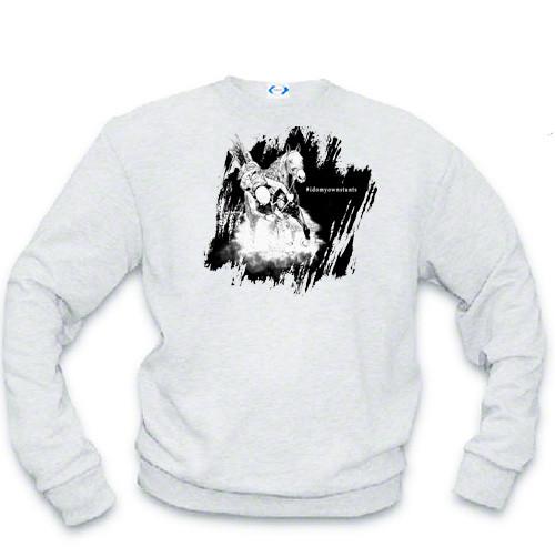 I do my own stunts - #idomyownstunts English Horse sweatshirt