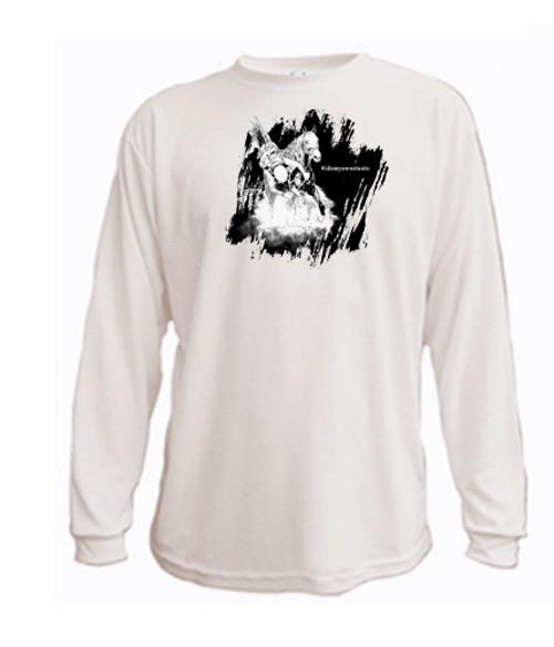 I do my own stunts - #idomyownstunts - English Horse long sleeved t-shirt