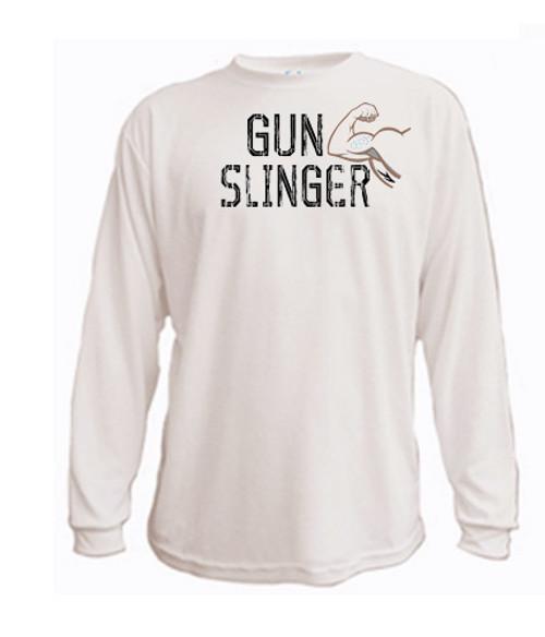 Athletic Long Sleeved T-shirt - Gun Slinger