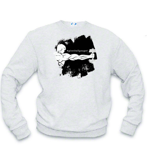 Athletic sweatshirt - #giveitallyougot