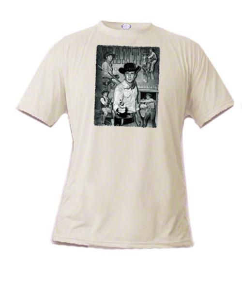 Robert Fuller T-shirt  - Wanted Jess Harper