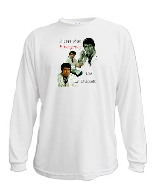 Emergency Call Dr Brackett - Long sleeved T-shirt
