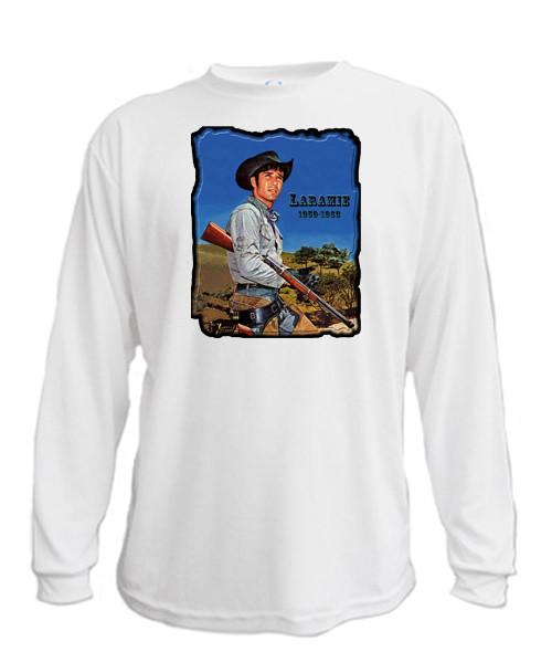 Jess - Rifle Cradled - Long sleeved T-shirt