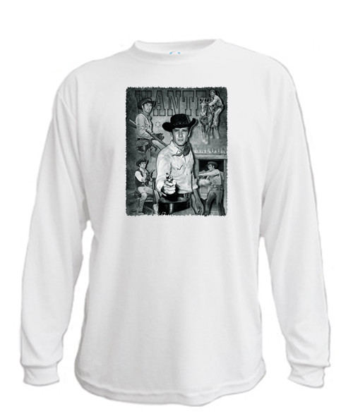 Wanted - Jess Harper - Long sleeved T-shirt