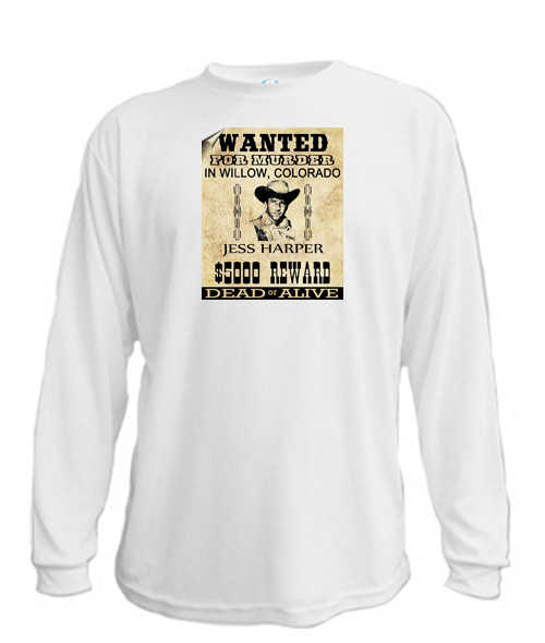 Wanted Poster - Long sleeved T-shirt