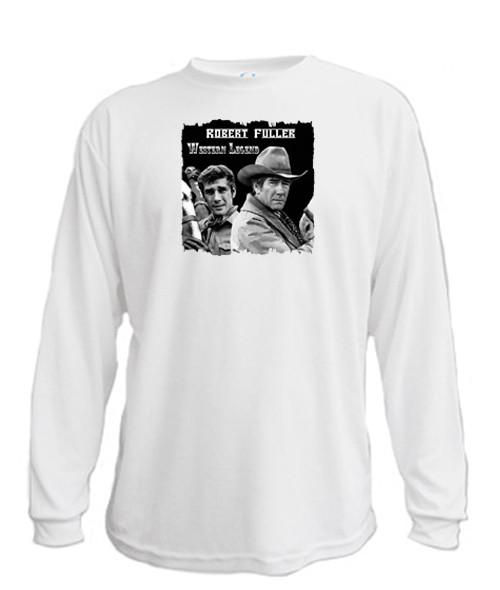 Robert Fuller Western Legend - Long sleeved T-shirt