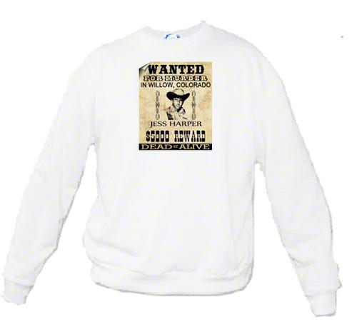 Jess Harper - Wanted Poster - Sweatshirt