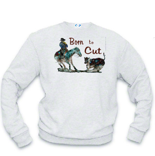 Born To Cut Sweatshirt