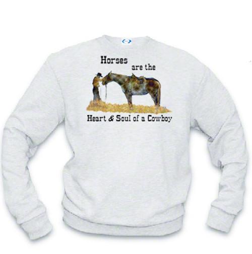 Cowboy's Heart and Soul Sweatshirt