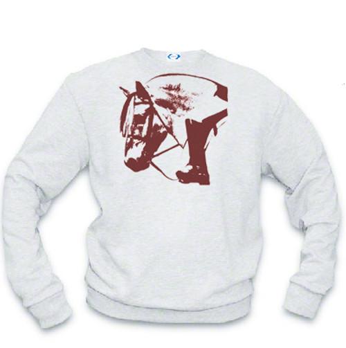 Ghost Horse Norwegian Fjord Sweatshirt