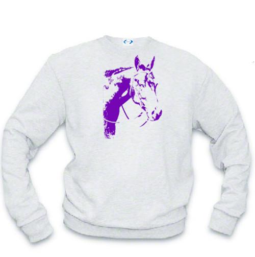 Sweatshirt - Ghost Horse - Western