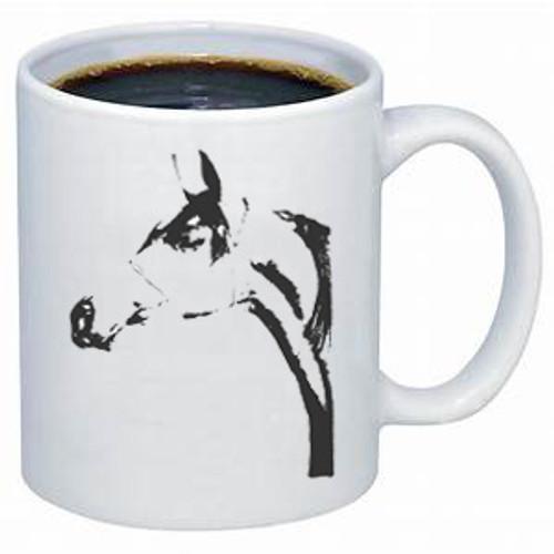 Ghost Horse Arabian Mug