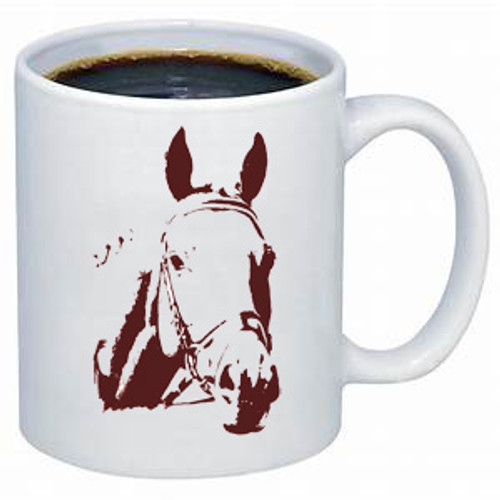 Ghost Horse Jumper coffee mug