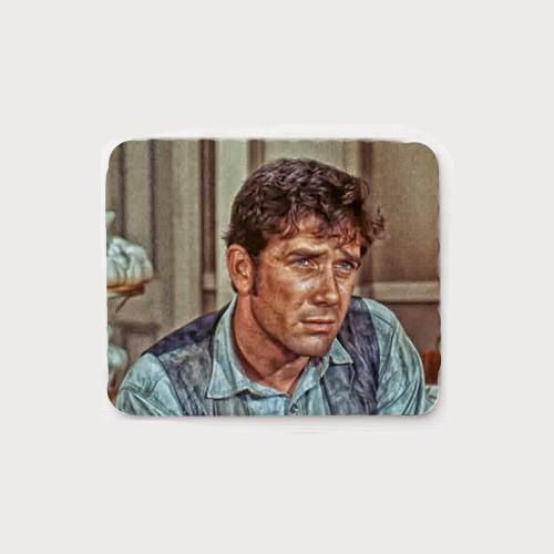Robert Fuller Mouse Pad - Dirty Jess Harper of Laramie