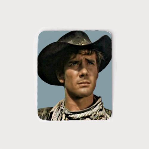 Robert Fuller Mouse Pad  - Laramie Jess Head Portrait