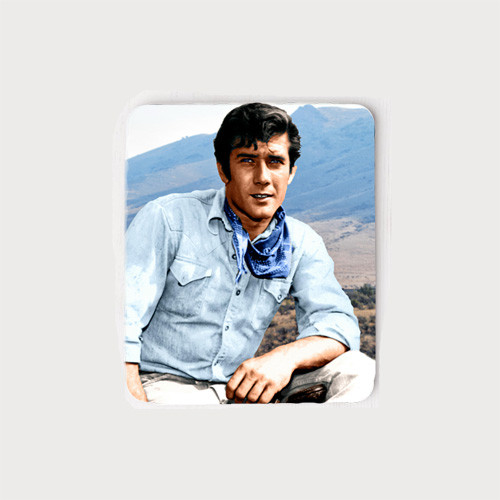 Robert Fuller Mouse Pad - Jess Laramie Mountains