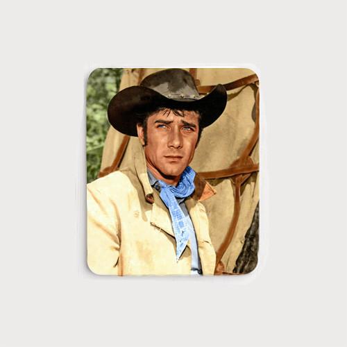 Robert Fuller Mouse Pad - Jess Harper of Laramie