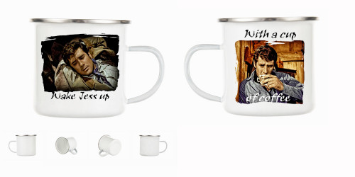 Robert Fuller Camp Mug - Wake Jess up