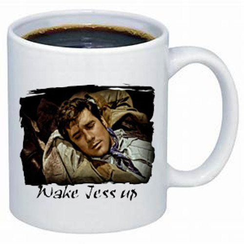 Robert Fuller mug - wake up Jess - front image