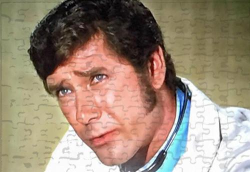 Robert Fuller Jigsaw Puzzle - Dr. Brackett in surgical scrubs