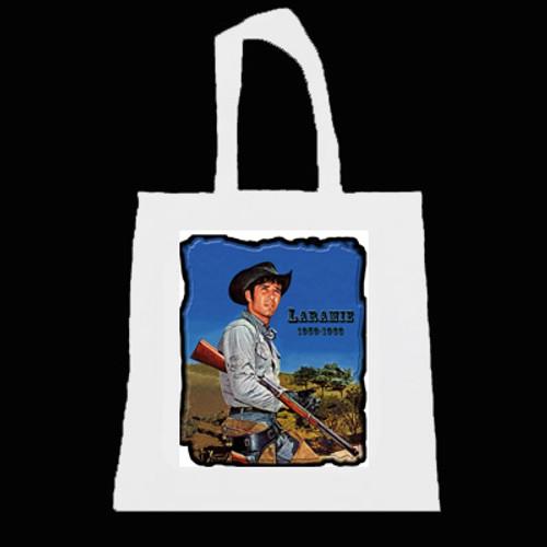 Tote Bags - Robert Fuller -Jess-Rifle Cradled