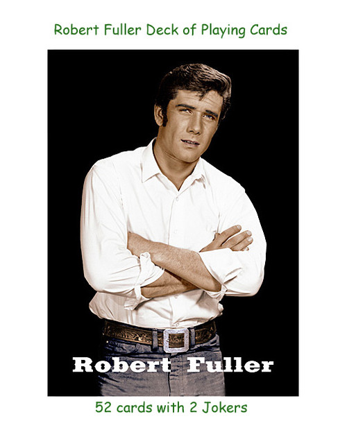 Robert Fuller deck of playing cards