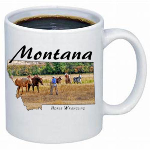Montana Mug - Horse Wrangling