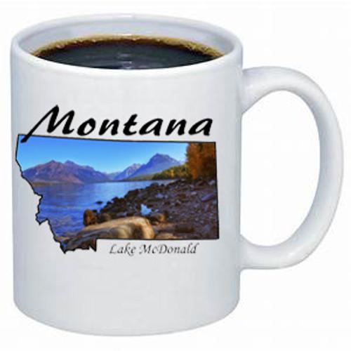 Montana Mug - Lake McDonald