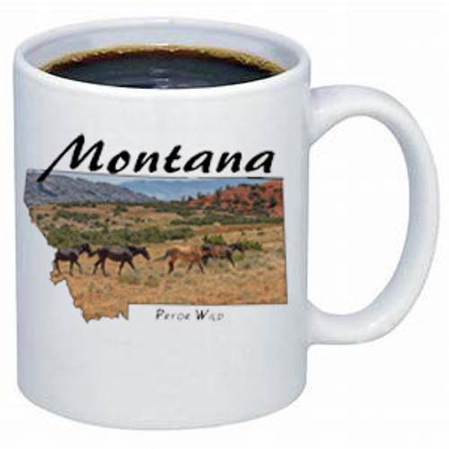 Montana Mug - Pryor Mountain Wild Horses
